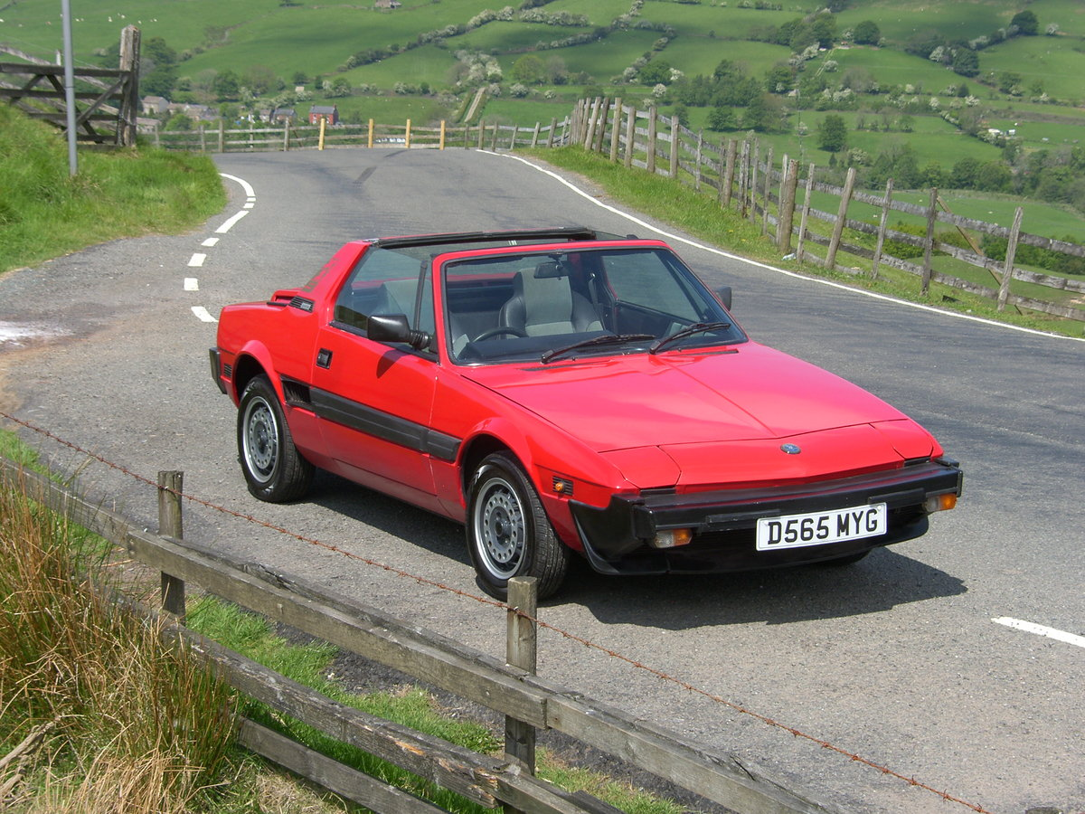 1987 Bertone/Fiat X1/9 For Sale (picture 2 of 6)