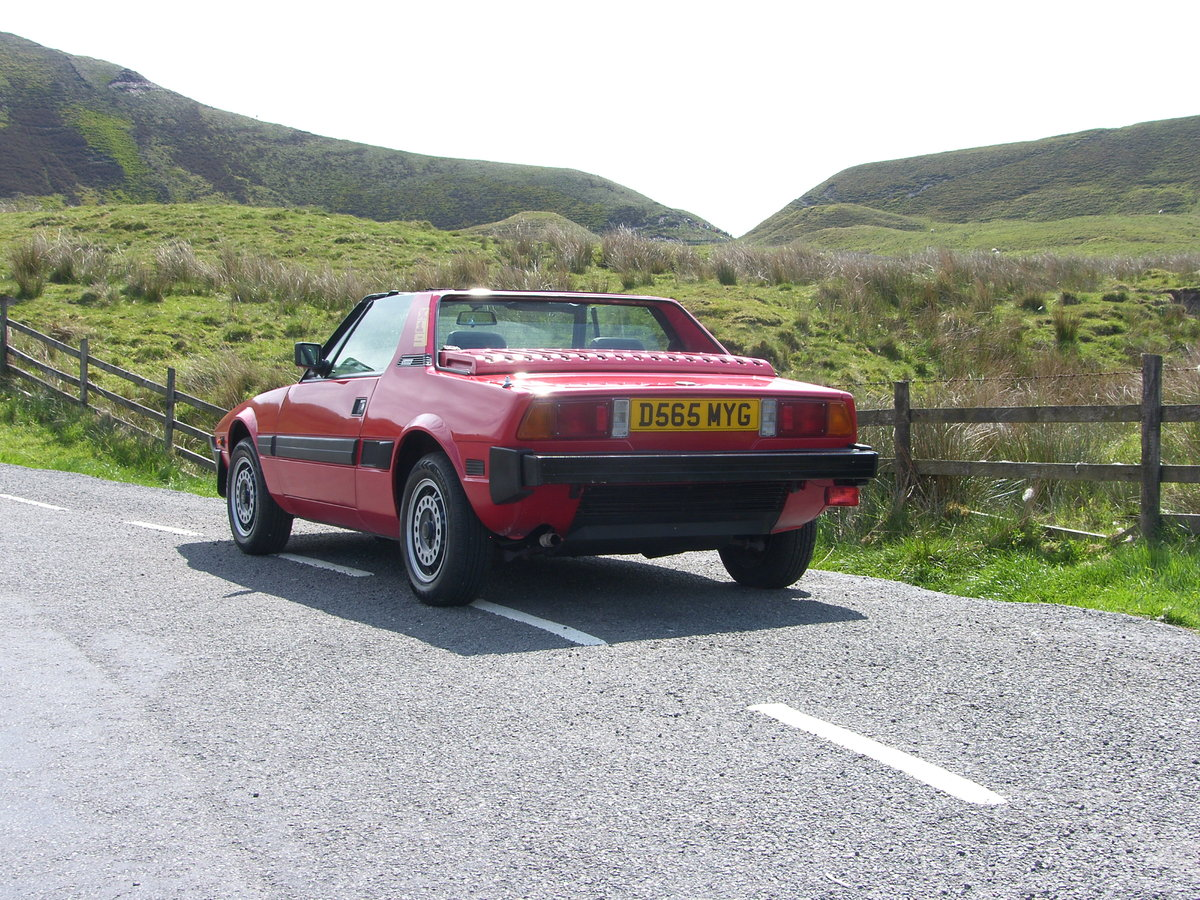 1987 Bertone/Fiat X1/9 For Sale (picture 3 of 6)