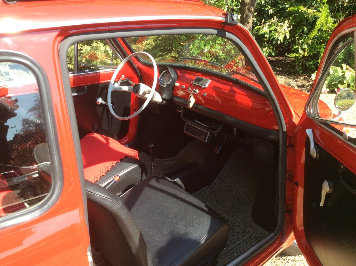 Fiat 500L 1969 Ferrari red For Sale (picture 4 of 6)