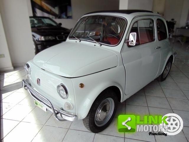 Fiat 500 L, anno 1972, completamente restaurata da abili ma For Sale (picture 1 of 6)