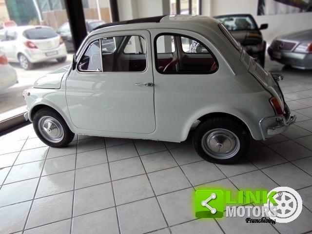 Fiat 500 L, anno 1972, completamente restaurata da abili ma For Sale (picture 2 of 6)