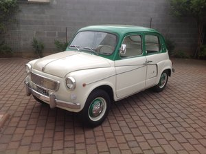 1959 Fiat 600 Lucciola Lombardi No reserve For Sale by Auction