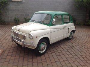 1959 Fiat 600 Lucciola Lombardi No reserve