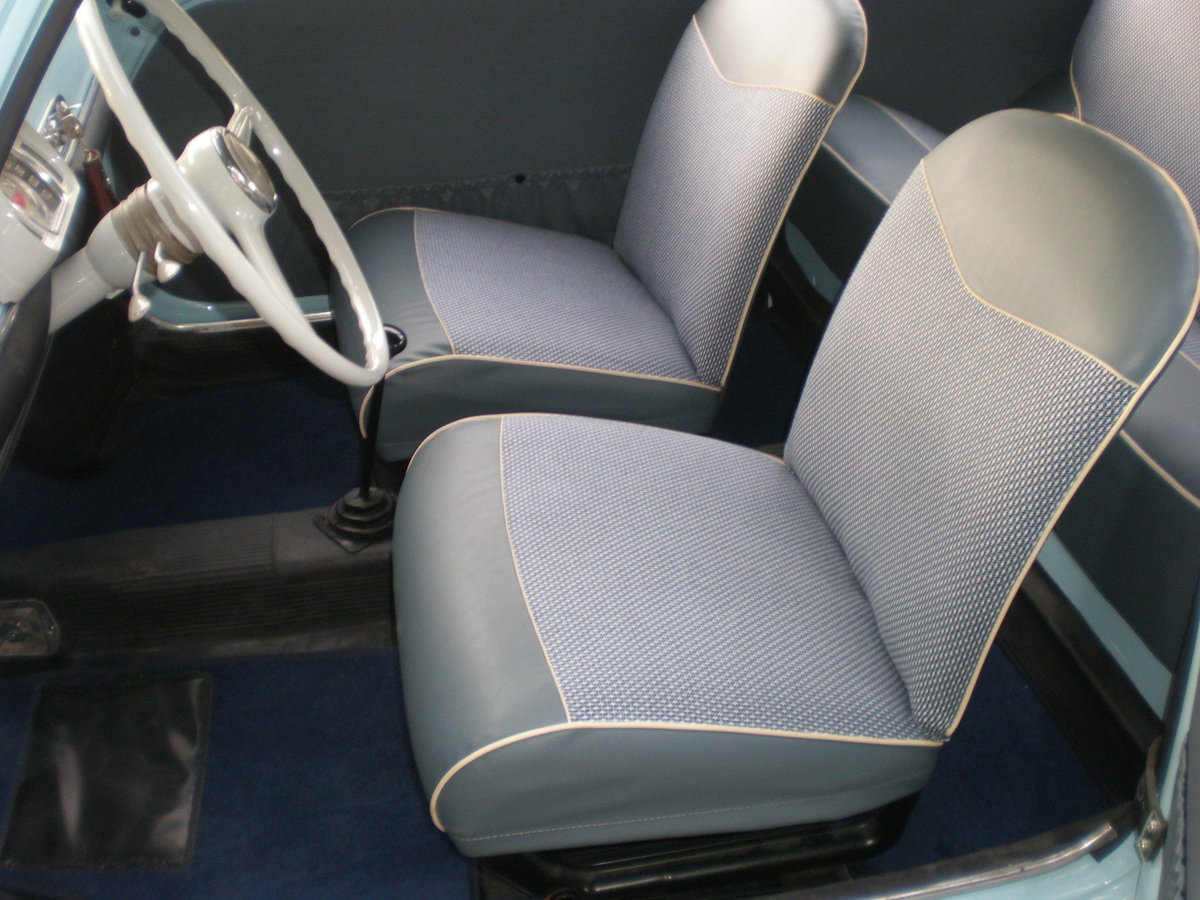 1960 Fiat 600 trasformabile convertible For Sale (picture 4 of 6)