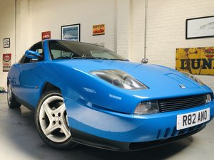 1997 FIAT COUPE 20V TURBO - 1 OWNER, LOW MILEAGE VEHICLE SOLD