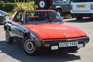 1987 Fiat x1/9 bertone vs 1.5 last owner 29 years
