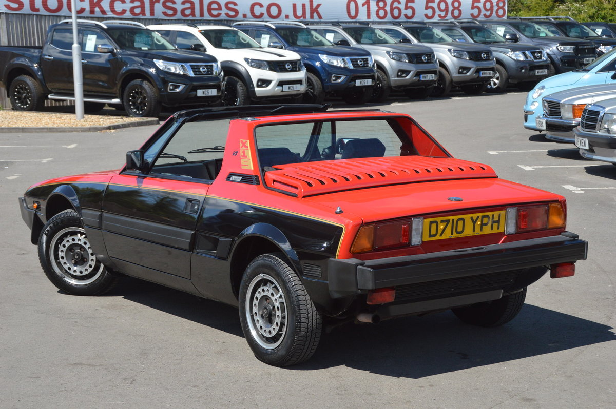 1987 Fiat x1/9 bertone vs 1.5 last owner 29 years SOLD (picture 2 of 6)