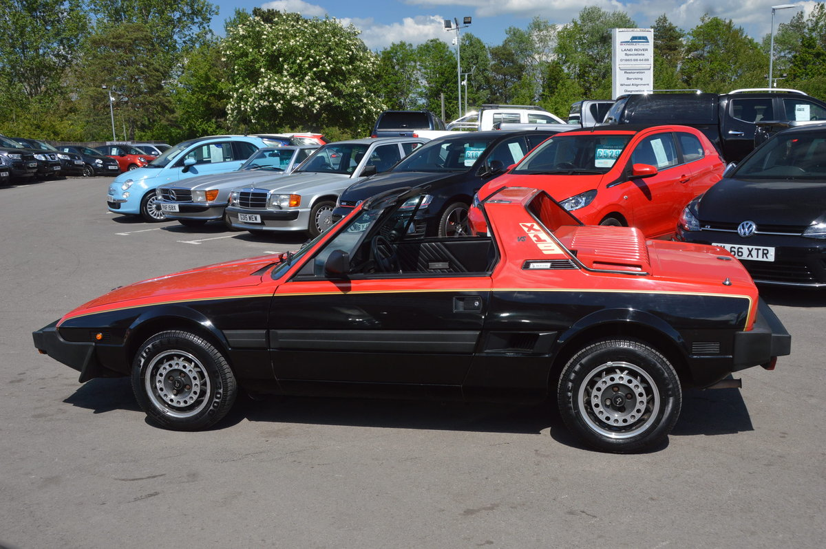 1987 Fiat x1/9 bertone vs 1.5 last owner 29 years For Sale (picture 6 of 6)