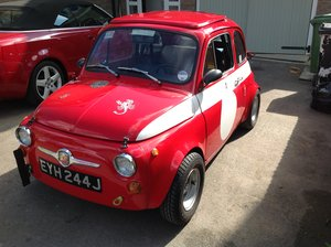 Fiat 500 Radbourne Racing Abarth, 1967, For Sale