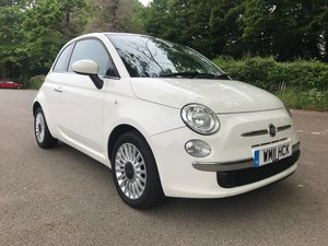 2011 Fiat 500 with full service history - Immaculate