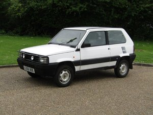 1990 Fiat Panda 4x4 NO RESERVE at ACA 15th June  For Sale