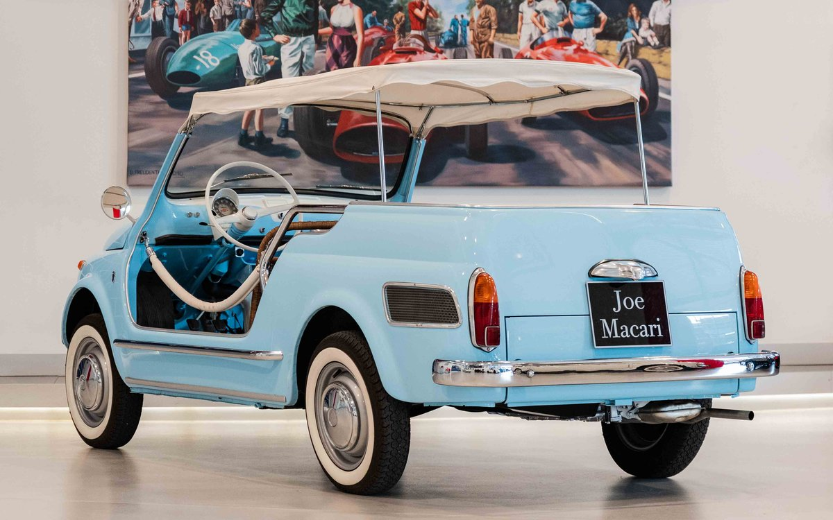 1958 Fiat 500 Jolly by Ghia For Sale (picture 3 of 6)