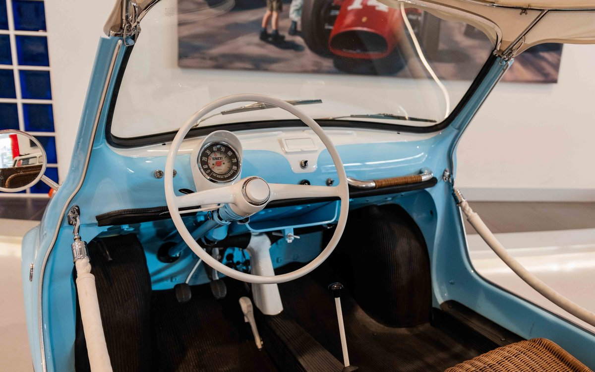1958 Fiat 500 Jolly by Ghia For Sale (picture 5 of 6)
