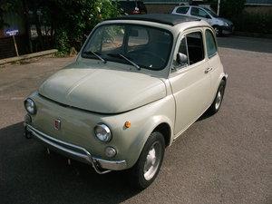1971 Fiat 500L  SOLD
