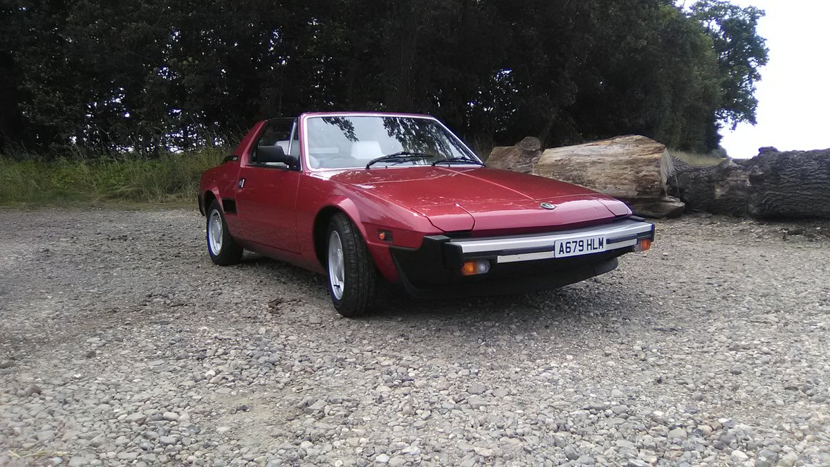 1984 Fiat x 1/9 1500 5sp. For Sale (picture 1 of 6)