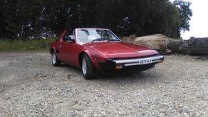 1984 Fiat x 1/9 1500 5sp.