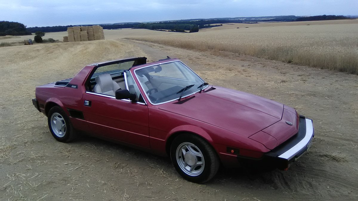 1984 Fiat x 1/9 1500 5sp. For Sale (picture 3 of 6)