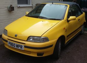 1996 Fiat Punto Convertible 8v For Sale