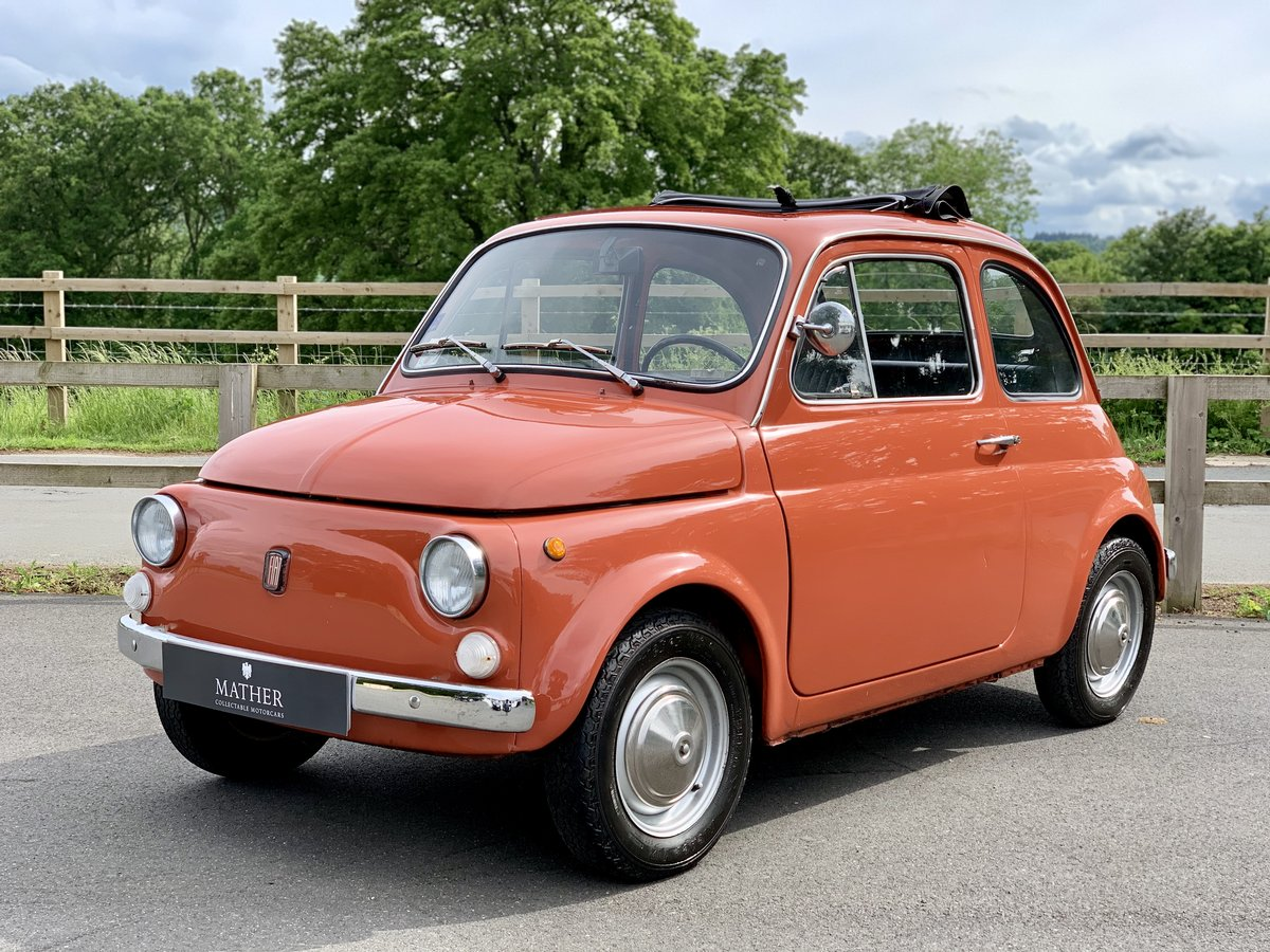 1972 Fiat 500L  For Sale (picture 1 of 7)