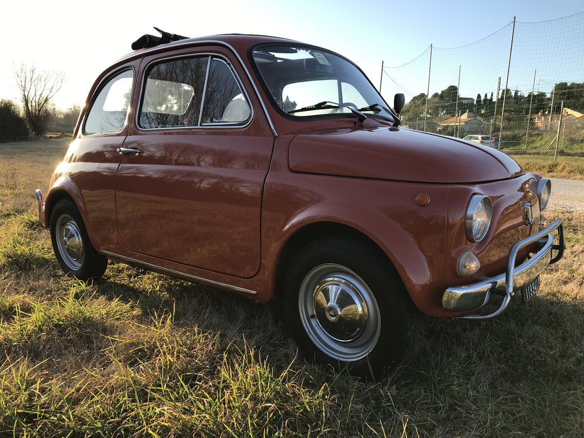 1972 Excellent preserved Fiat 500 L 2 owners  For Sale (picture 1 of 6)