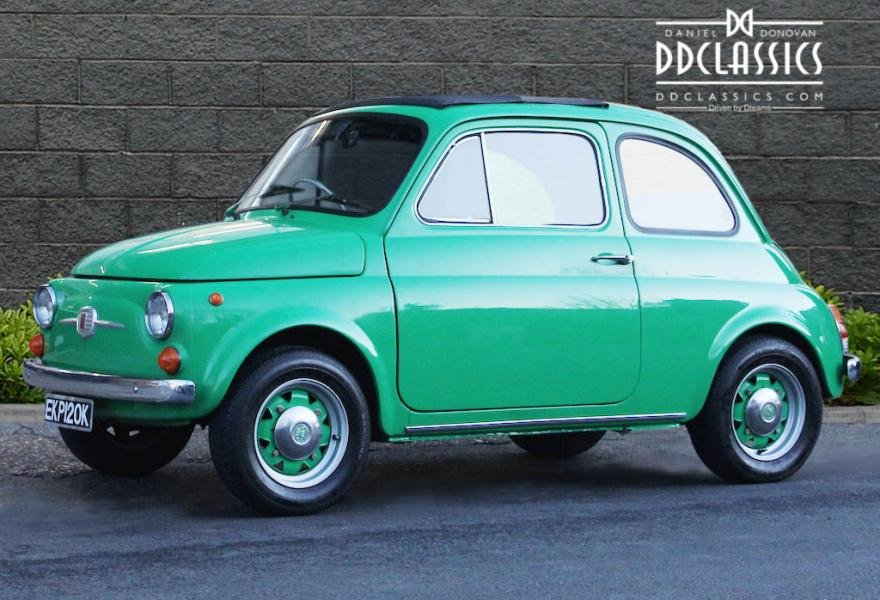 1972 Fiat 500 RHD For Sale In London For Sale (picture 1 of 12)