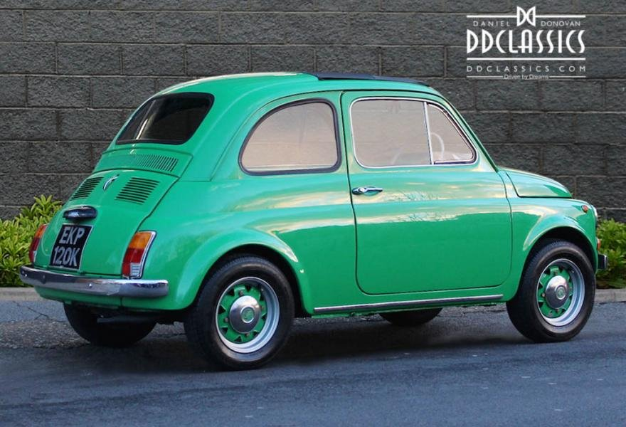 1972 Fiat 500 RHD For Sale In London For Sale (picture 2 of 12)