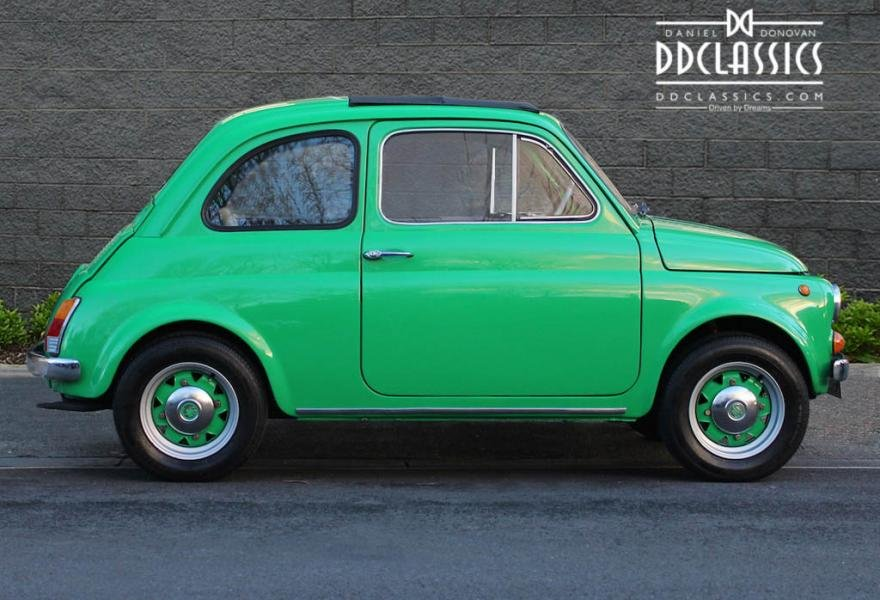 1972 Fiat 500 RHD For Sale In London For Sale (picture 3 of 12)