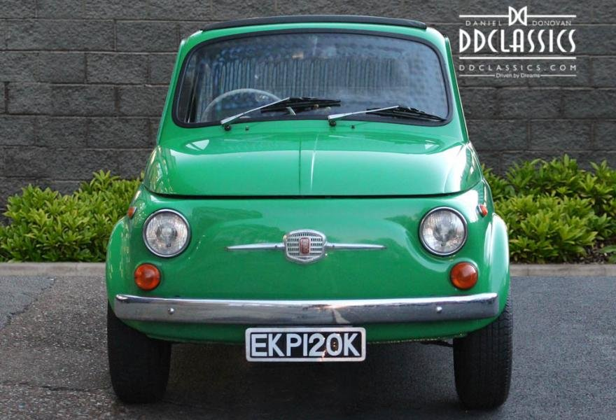 1972 Fiat 500 RHD For Sale In London For Sale (picture 4 of 12)