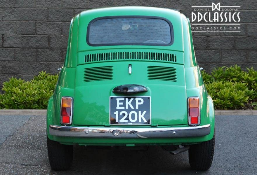 1972 Fiat 500 RHD For Sale In London For Sale (picture 5 of 12)