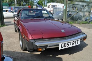 1989 FIAT X/19 GRAND FINALE LIMITED EDITION GOOD CONDITION SOLD