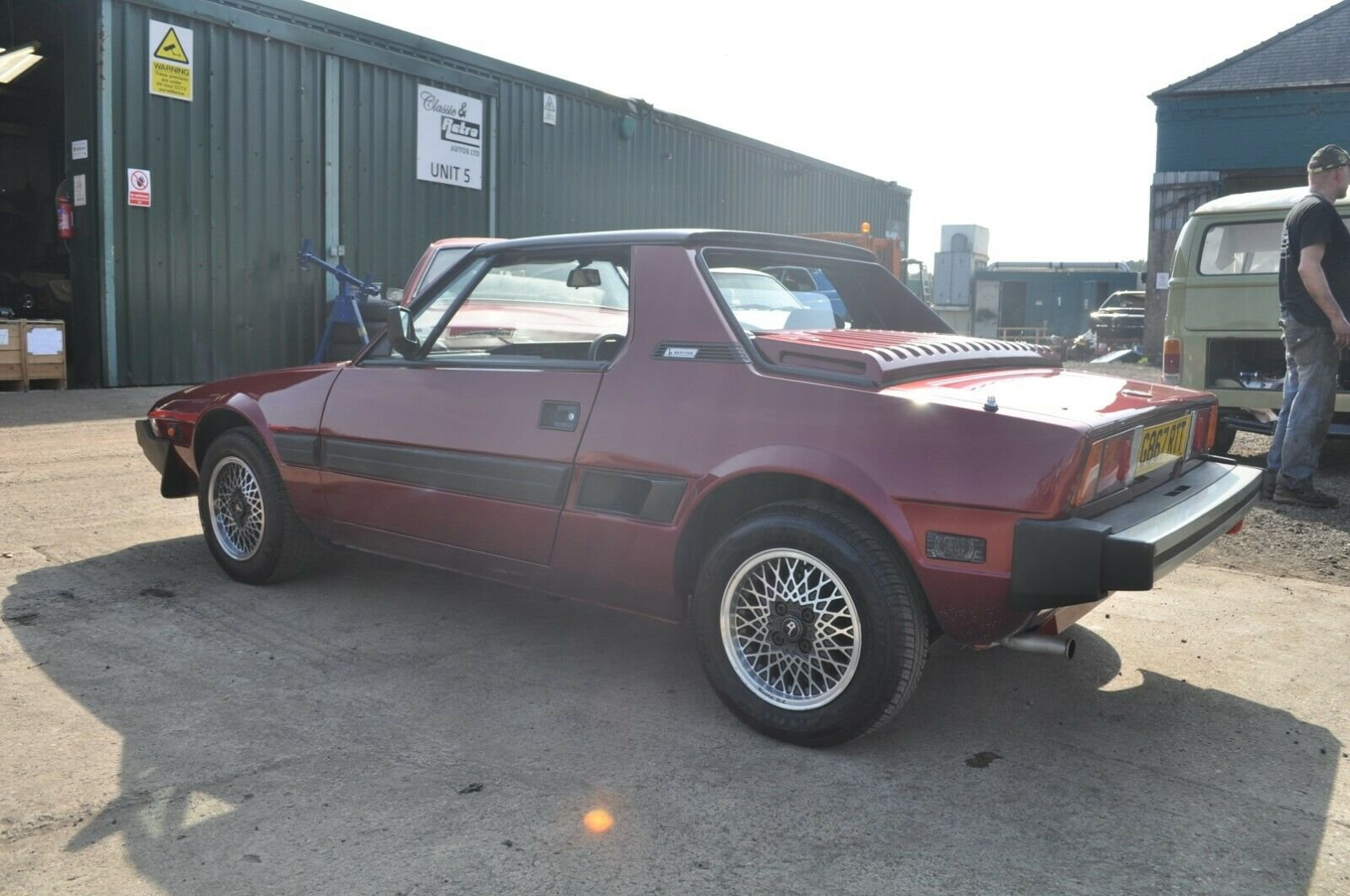 1989 FIAT X/19 GRAND FINALE LIMITED EDITION GOOD CONDITION For Sale (picture 5 of 6)