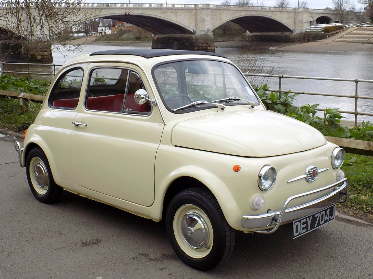 1970 FIAT 500L 'ELECTRIC' For Sale (picture 1 of 6)