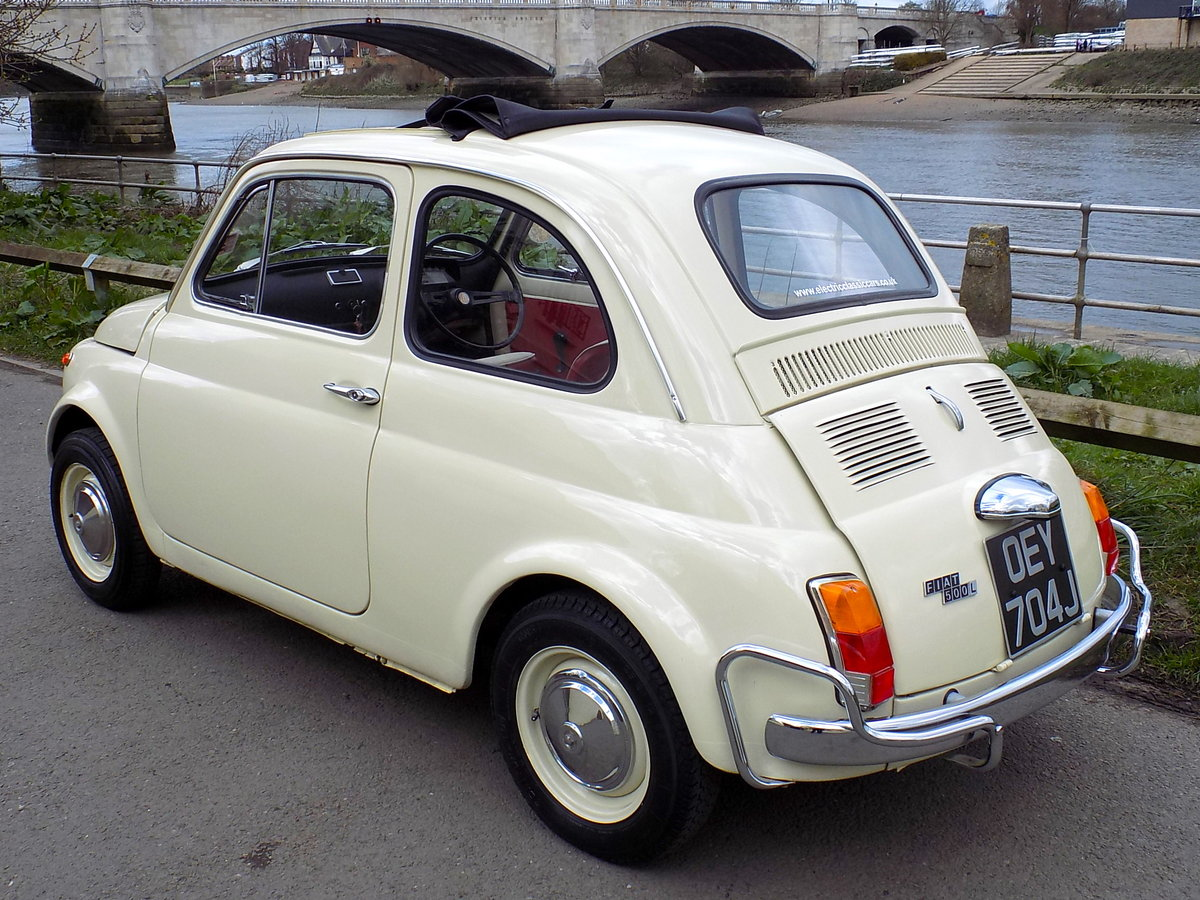 1970 FIAT 500L 'ELECTRIC' For Sale (picture 2 of 6)