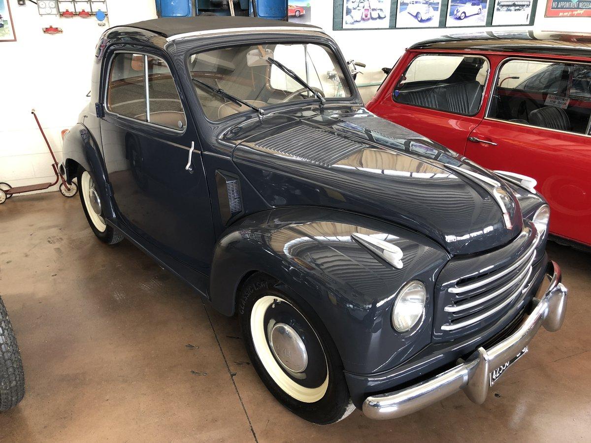 1953 Fiat 500 C Topolino SOLD (picture 1 of 6)