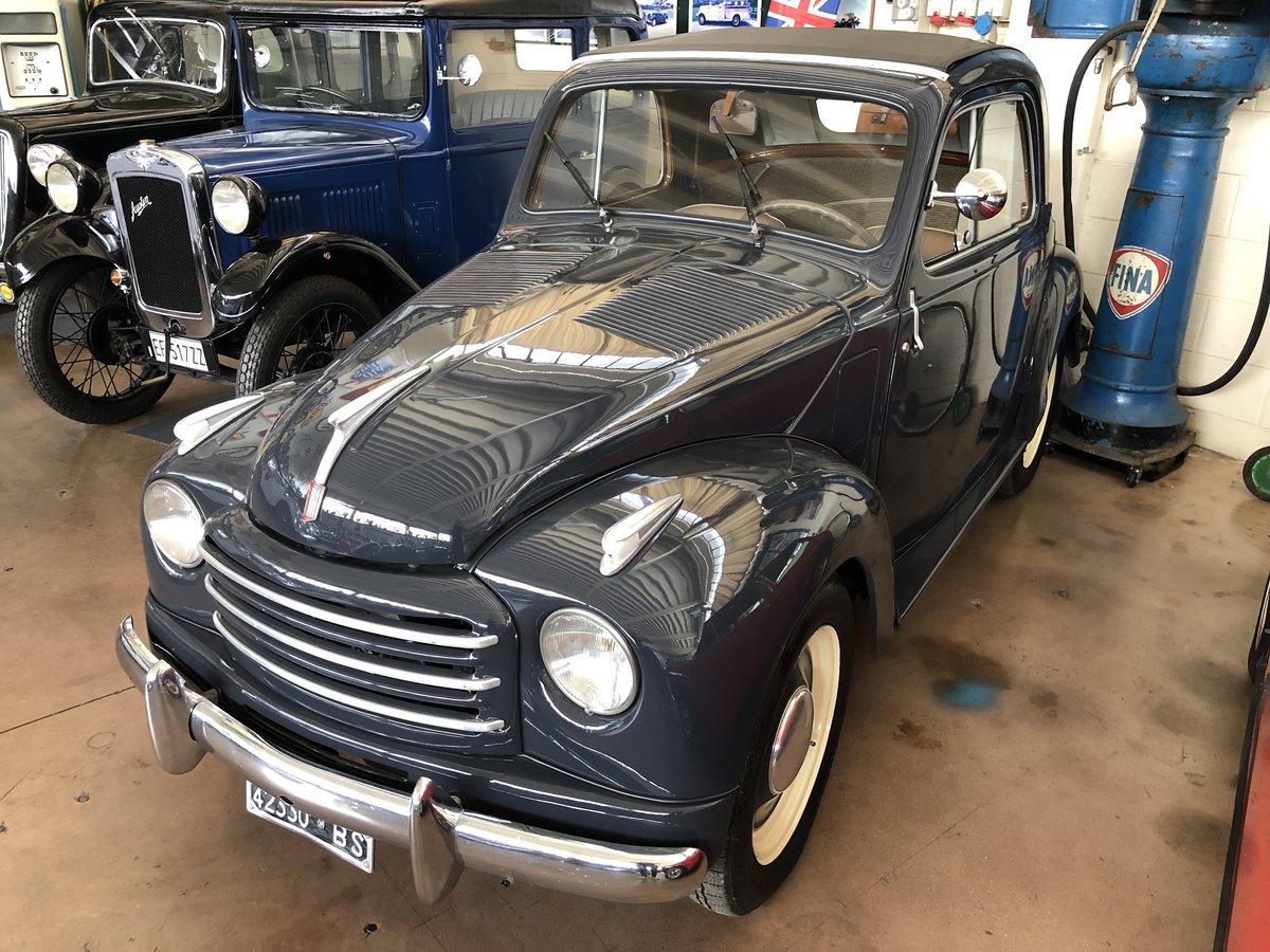 1953 Fiat 500 C Topolino SOLD (picture 2 of 6)