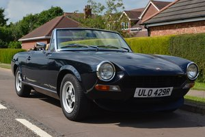 1972  1977 Fiat 124 Spider RHD Just £8,000 - £10,000 For Sale by Auction