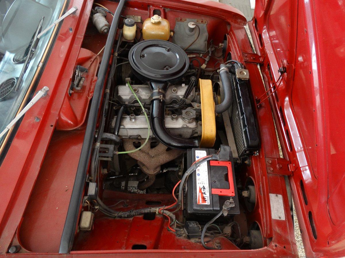 1974 Fiat 124 Super T 1600 bialbero, original survivor For Sale (picture 5 of 6)
