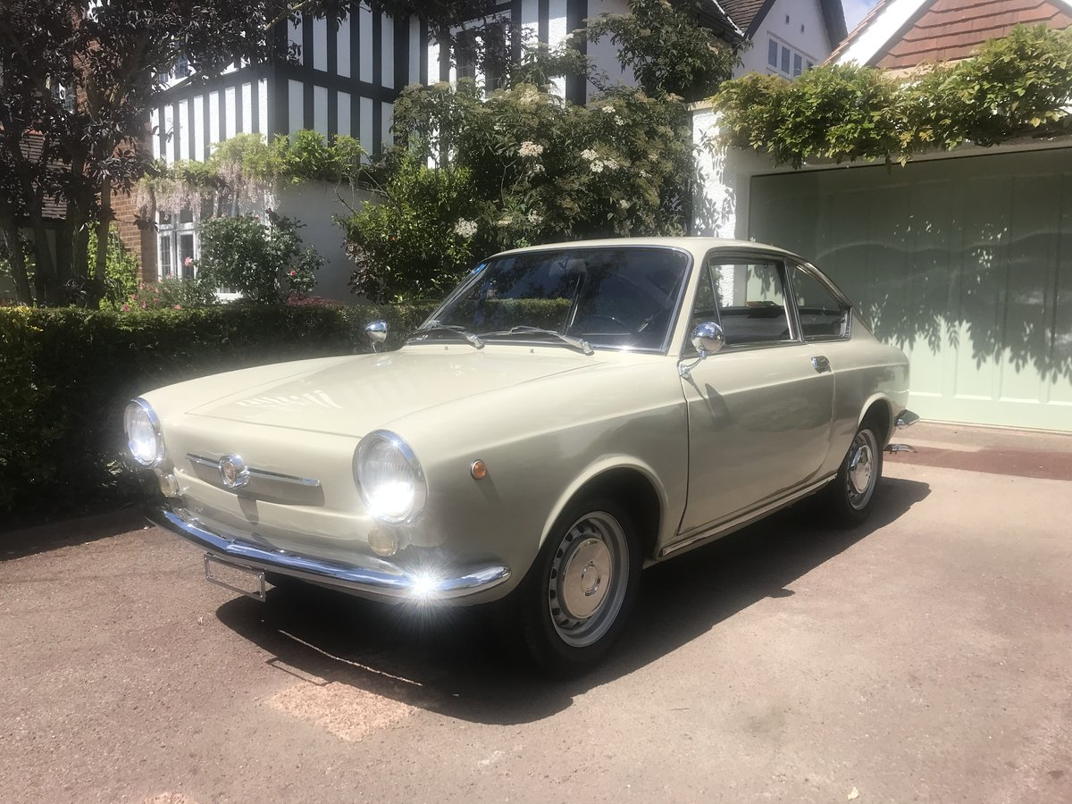 1966 Fiat 850 Coupe Series 1 LHD (Italian Example) For Sale (picture 1 of 6)