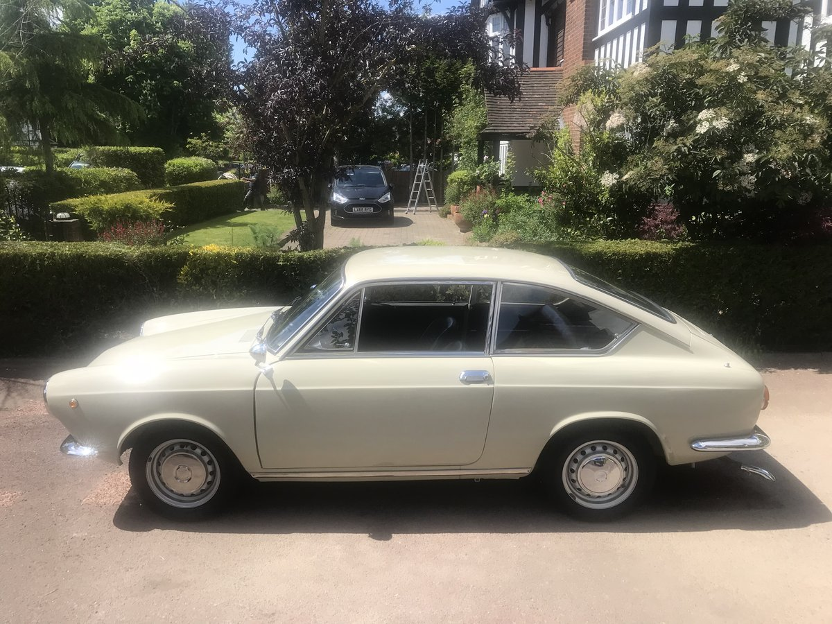 1966 Fiat 850 Coupe Series 1 LHD (Italian Example) For Sale (picture 2 of 6)