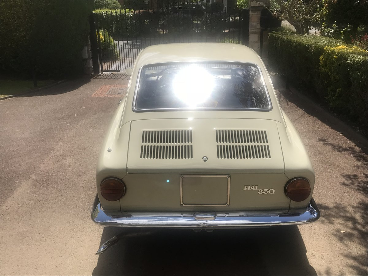 1966 Fiat 850 Coupe Series 1 LHD (Italian Example) For Sale (picture 3 of 6)