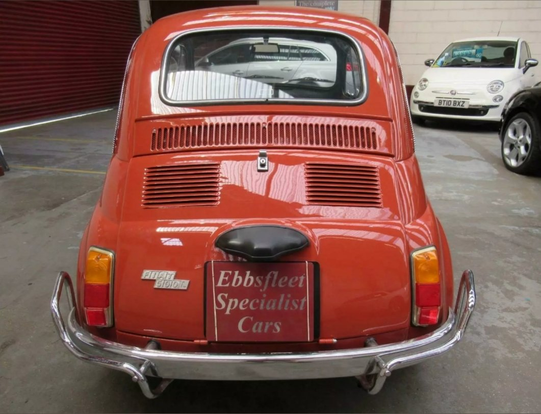 1970 Fiat 500l immaculate condition For Sale (picture 5 of 6)