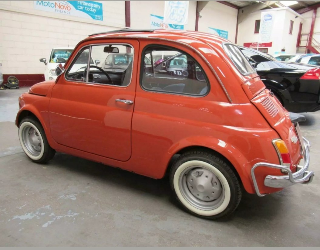 1970 Fiat 500l immaculate condition For Sale (picture 6 of 6)