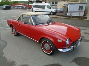 FIAT 124 1.6 BS1 SPORT SPIDER CONVERTIBLE(1971)98% RUSTFREE! SOLD