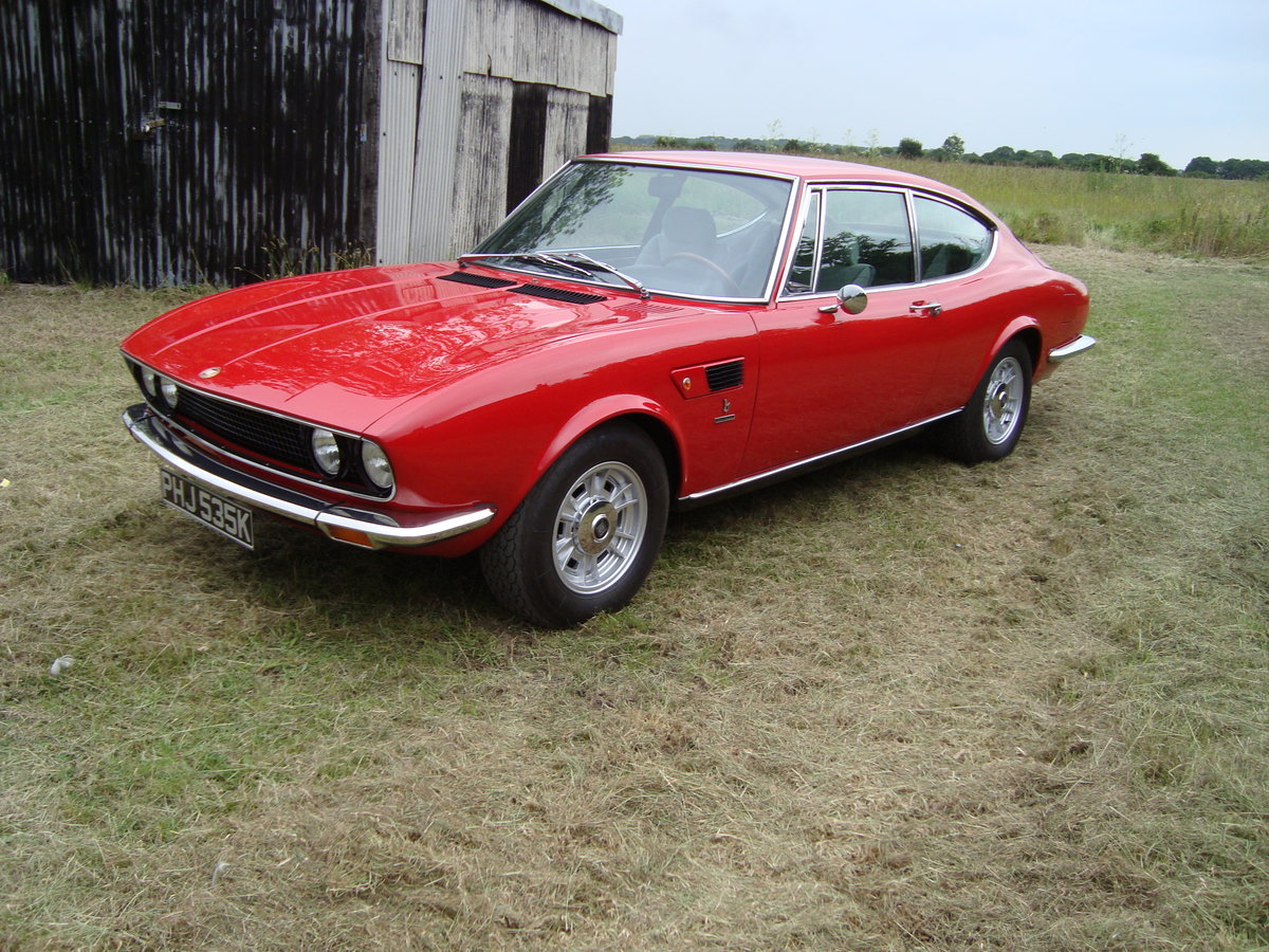 1971 Fiat Dino 2.4 Bertone Coupe For Sale (picture 2 of 6)