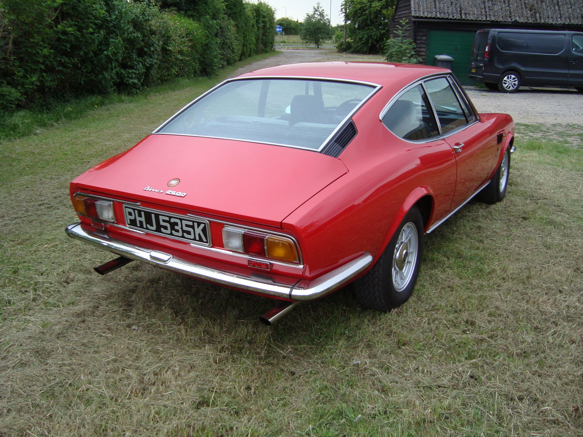 1971 Fiat Dino 2.4 Bertone Coupe For Sale (picture 4 of 6)