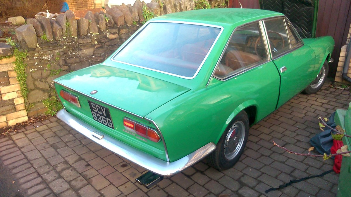 1969 Fiat 124 Coupe Classic  For Sale (picture 1 of 6)