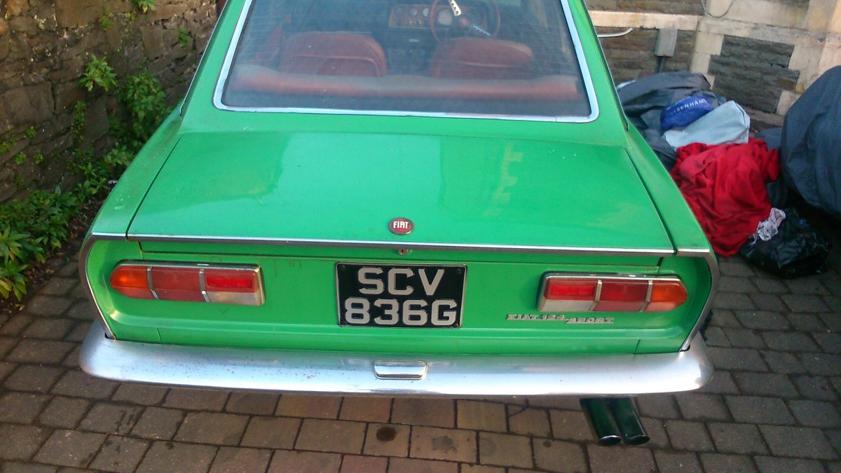 1969 Fiat 124 Coupe Classic  For Sale (picture 4 of 6)