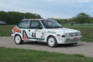 1986 Fiat Abarth Ritmo 130 TC Rally