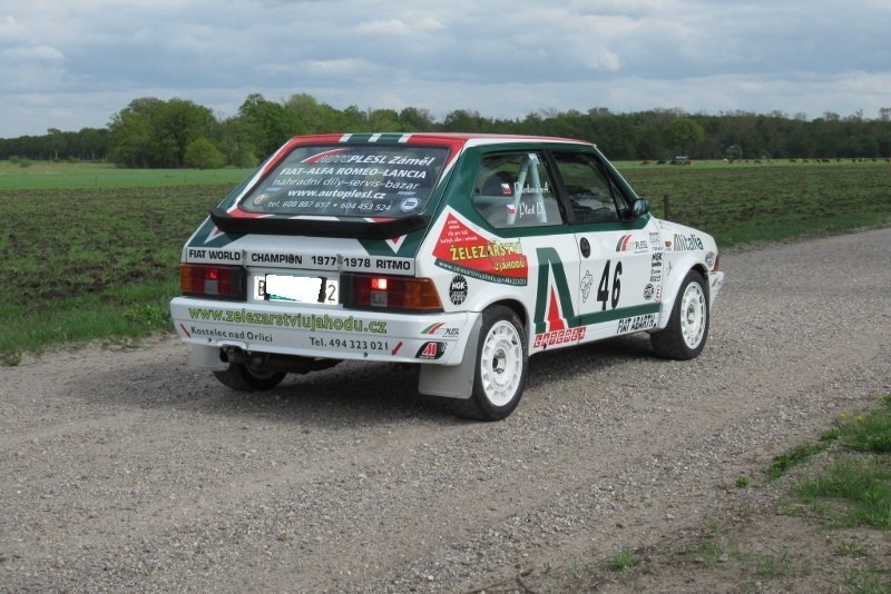 Fiat Abarth Ritmo 130 TC Rally 1986 For Sale (picture 2 of 6)