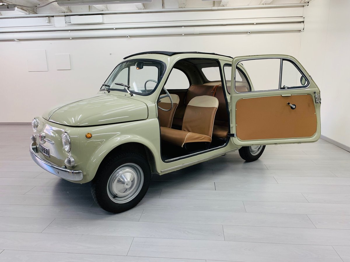 1963 FIAT 500D CABRIOLET For Sale (picture 1 of 6)
